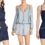 GET PLAYFUL WITH THE DENIM ROMPER