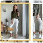 WHITE SKINNY JEAN IGTV OUTFIT INSPIRATION