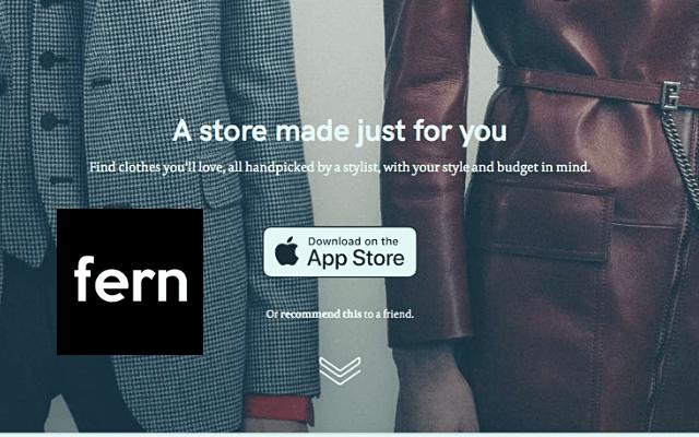 fern personal styling app