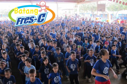 Batang Fres-C® Hataw School Caravan aims to engage school children in maintaining proper diet and physical activities.