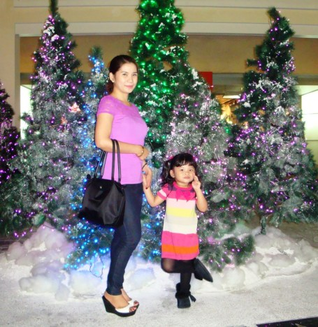 You can also take pictures with these lovely and lighted Christmas tree. You would really feel that you are transported to a forest and serenaded by Christmas songs.