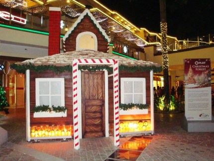 Christmas Forest in Eastwood City Walk 2