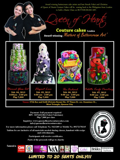 Queen of Hearts Couture Cakes