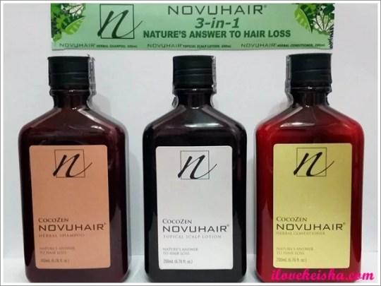 NOVUHAIR® 3-in-1