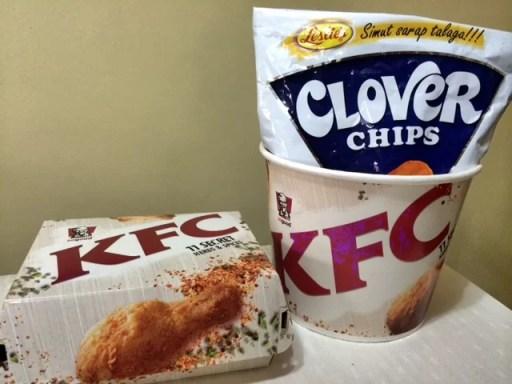 KFC Crispy Cheese Chicken