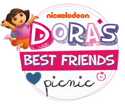 Dora's Best Friends Picnic event logo