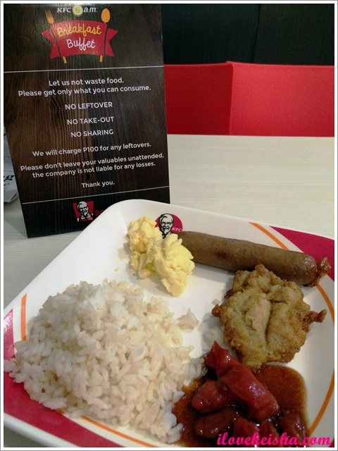 KFC Breakfast Buffet