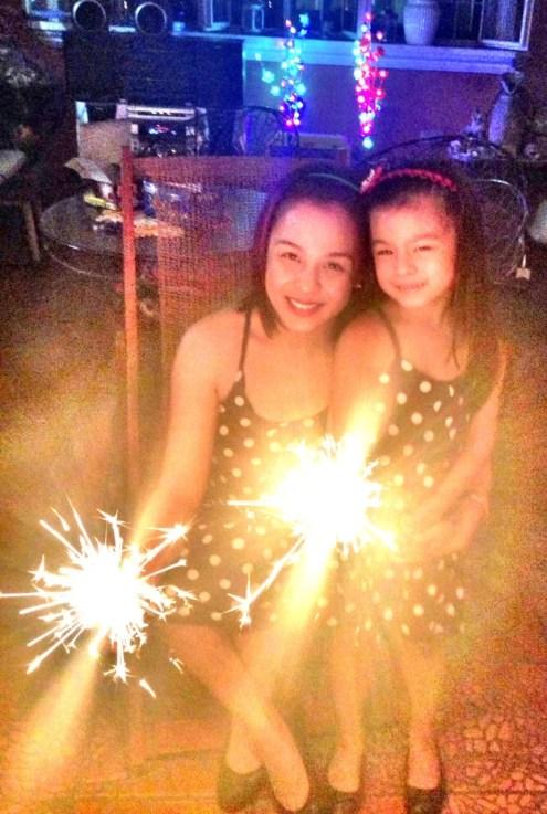 Nikki Valdez with daughter 3