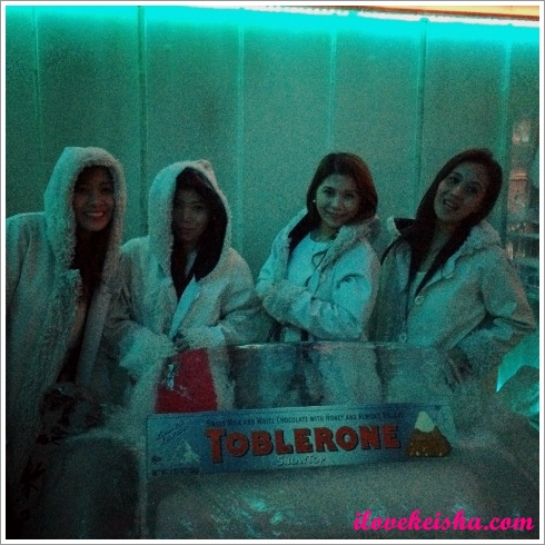 Toblerone SnowTop Epic Snow Party at Imperial Ice Bar