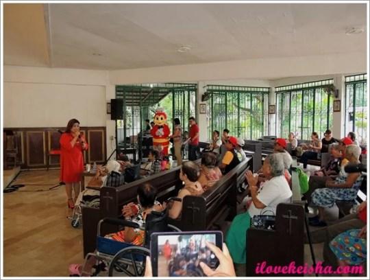 Jollibee Grandparents Day in Kanlungan Ni Maria