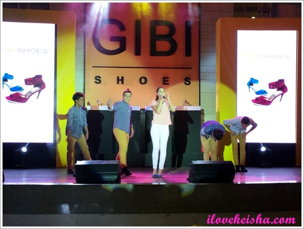 JAsmine Curtis for Gibi Shoes