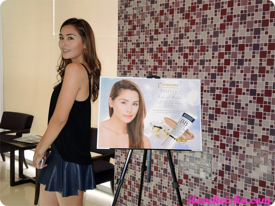 Gwen Zamora for Shinagawa and Celesty BB Cream