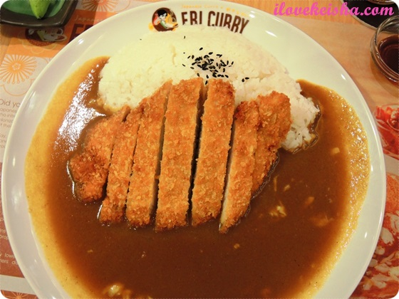 Eri Curry Katsu Curry SM Megamall