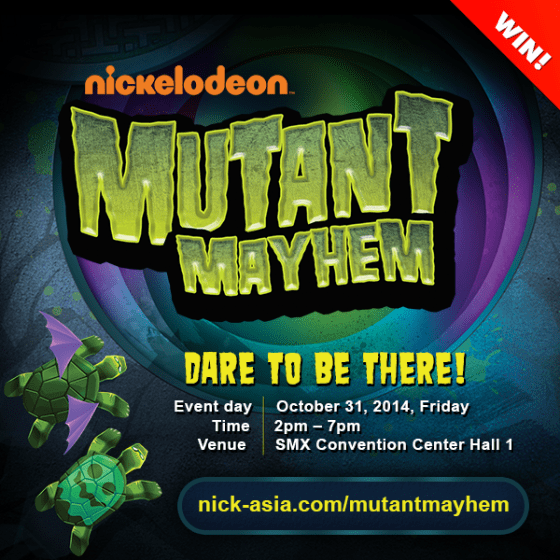 nickelodeon halloween trick or treat event 1