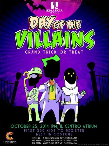 sta. lucia east mall halloween trick or teat event