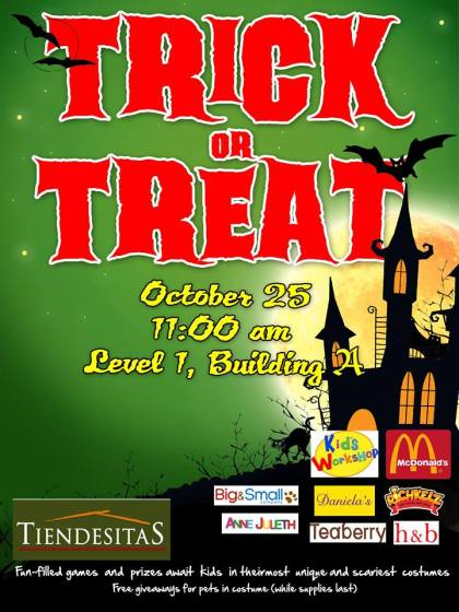 tiendesitas trick or treat event