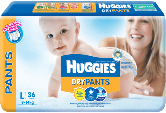 Huggies Dry Pants Packshot