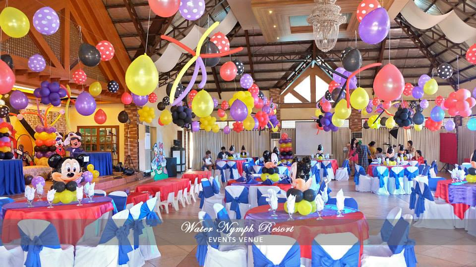 Birthday Party Venues In Metro Manila