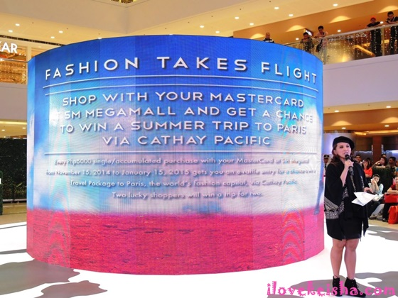 SM Megamall X MasterCard Present Fashion Takes Flight