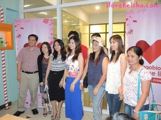 Sangobion Shopping Event Winners