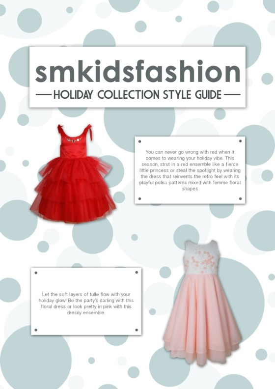 SM Kids' Fashion Holiday Collection