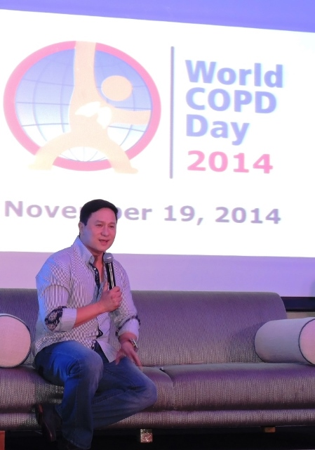 Eric Quizon World COPD Day