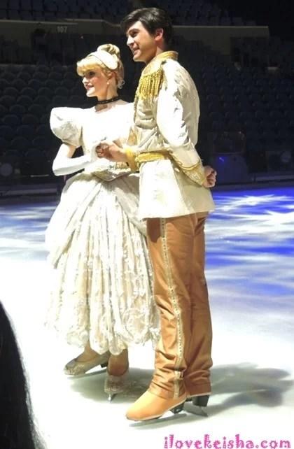 Disney on ice Meet and Greet