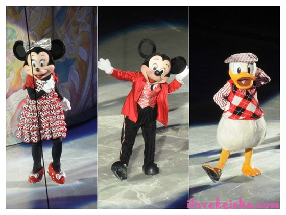 Disney on ice mickey minnie donald