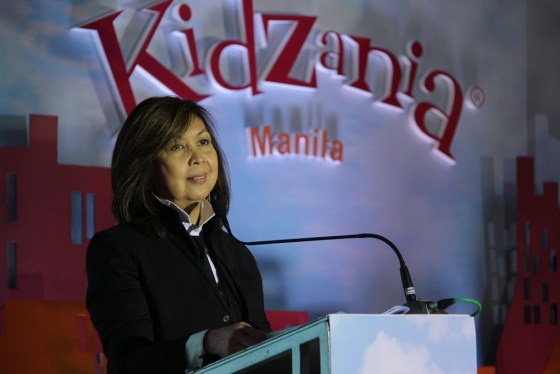 KidZania_01 Play Innovations President and CEO, and KidZania Manila Governor Maricel Pangilinan-Arenas