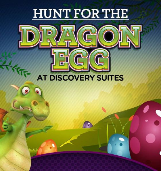 Discovery Suites Easter Egg Hunting Activities