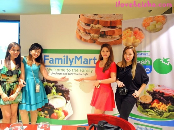 Fab Four at Familymart launch