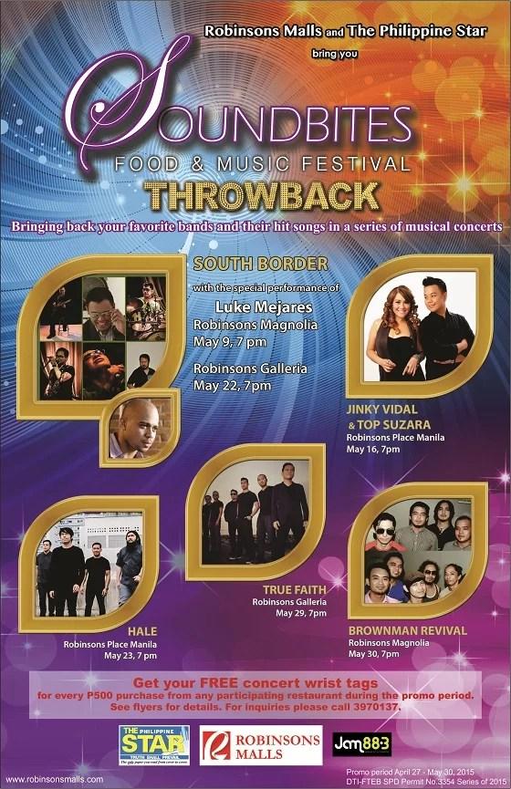 SOUNDBITES 2015 flyer front