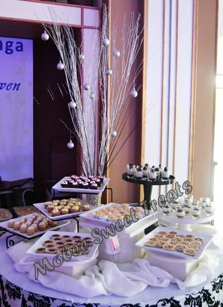 Mobee Sweet Treats by Sheila Henson-Aldea dessert buffet