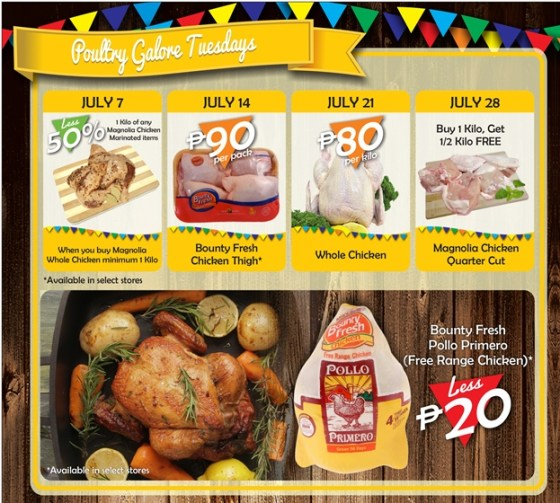 Robinsons Supermarket 2nd Freshtival 2015 Poultry Galore Tuesday