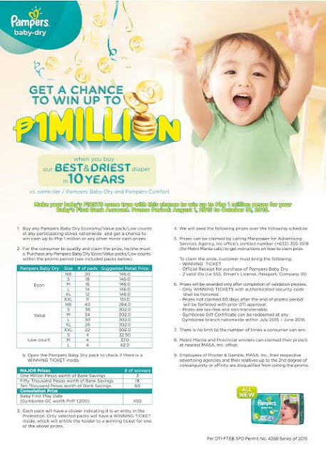 Pampers+first+million