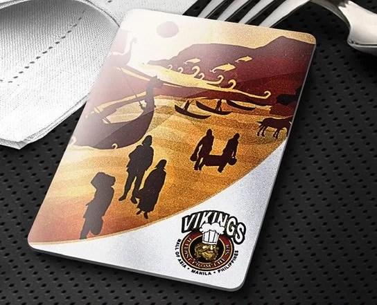 Vikings Loyalty Card 1