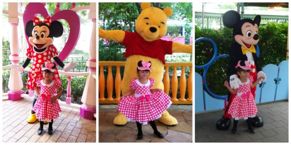 Keisha at Hongkong Disneyland