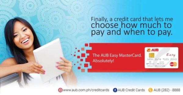 AUB Easy MasterCard_Banner Ad 1