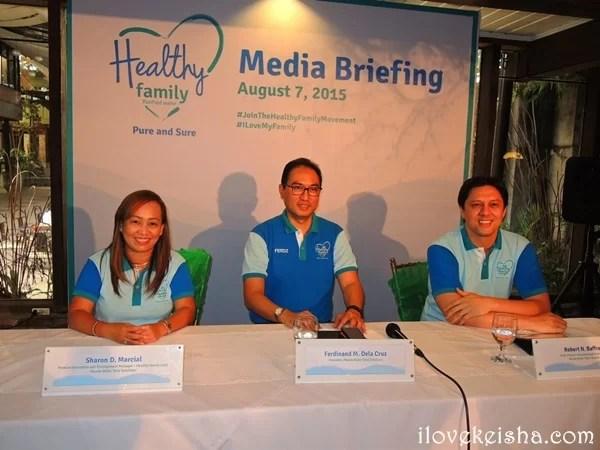 Healthy Family Manila Water 2