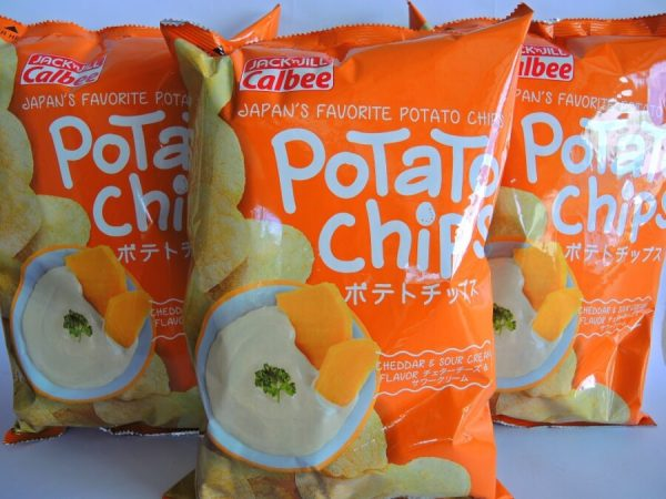 Calbee Potato Chips 1