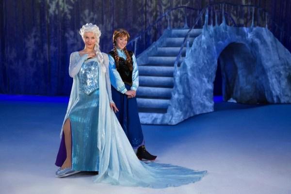 Disney On Ice Frozen Anna and Elsa