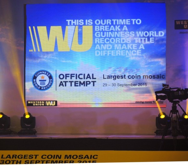 Western Union Largest Coin Mosaic 1