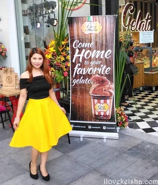 Kaye Fig Casa Italia Launch