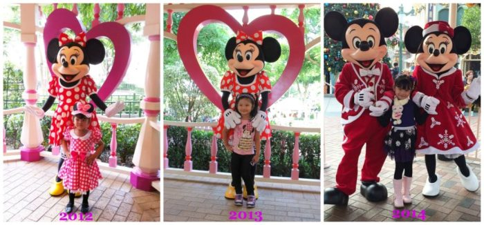 Keisha in HK Disneyland