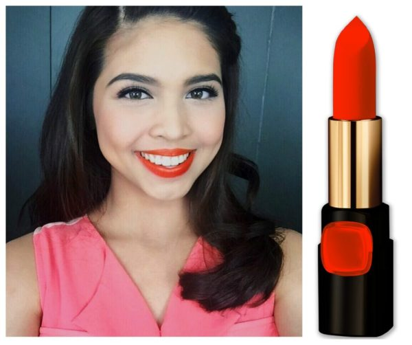 Maine Mendoza Color Riche in Pure Fire