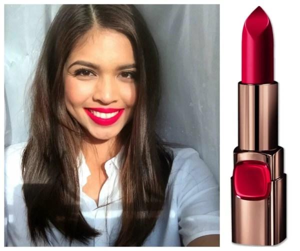 Meine Mendoza Color Riche in Red Valentine