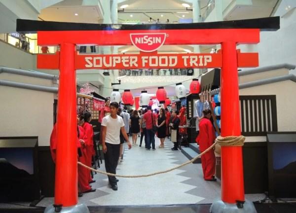 Nissin Souper Food Trip Event 1