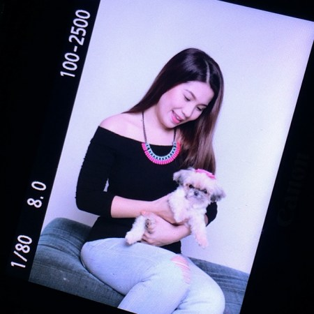 Pet Angel x Purple Groom Shoot BTS
