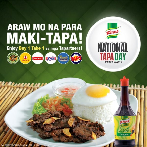 Knorr National Tapa Day