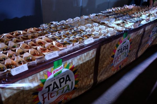 Knorr Tapa Fiesta serves 100 different kinds of tapa dishes in one event